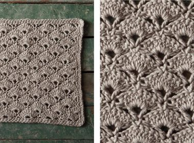 Jazz Age Crochet Washcloth [FREE Crochet Pattern] | thecrochetfox.com