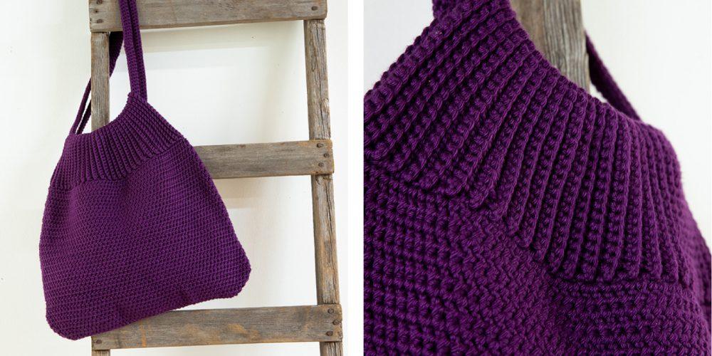 Le Tote Crochet Bag [FREE Crochet Pattern]   thecrochetfox.com