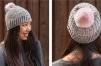 Plush Lisbeth Crochet Beanie [FREE Crochet Pattern] | thecrochetfox.com