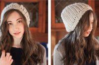 Longitude Crochet Hat [FREE Crochet Pattern] | thecrochetfox.com