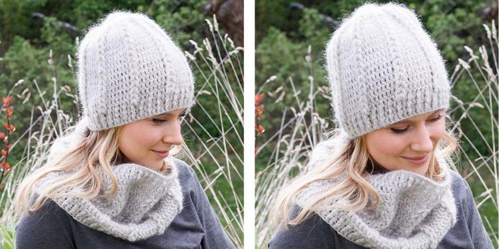 Loop Cables Crochet Warmers [FREE Crochet Pattern] | thecrochetfox.com