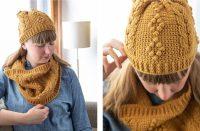 Montague Avenue Hat and Cowl [FREE Crochet Pattern]   thecrochetfox.com