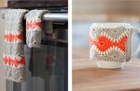 Classy Crochet Morning Sunburst Kitchen Set [FREE Crochet Pattern] | thecrochetfox.com