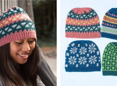 Multiverse Colorwork Crochet Hat [FREE Crochet Pattern] | thecrochetfox.com