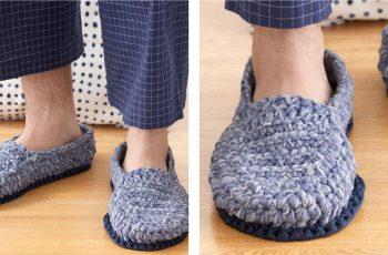 Phentex Crochet Loafers [FREE Crochet Pattern] | thecrochetfox.com