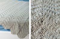 Pretty Crochet Baby Afghan [FREE Crochet Pattern] | thecrochetfox.com