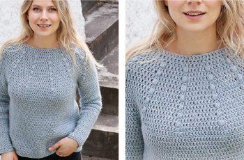 Rain Dance Crochet Sweater [FREE Crochet Pattern]   thecrochetfox.com