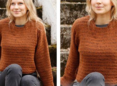 Rustic Crochet Sweater [FREE Crochet Pattern] | thecrochetfox.com
