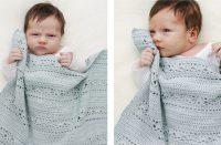 Sleepy Times Crochet Blanket [FREE Crochet Pattern] | thecrochetfox.com