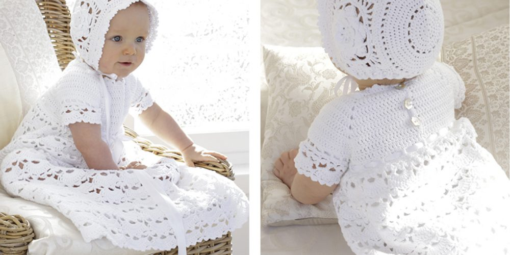 So Charming Baby Dress Set [FREE Crochet Pattern]   thecrochetfox.com