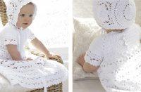 So Charming Baby Dress Set [FREE Crochet Pattern] | thecrochetfox.com