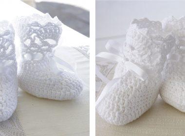 So Charming Baby Socks [FREE Crochet Pattern] | thecrochetfox.com
