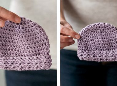 Soothing Crochet Baby Hat [FREE Crochet Pattern] | thecrochetfox.com