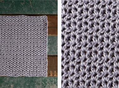 Elegant Sophia Crochet Spa Cloth [FREE Crochet Pattern] | thecrochetfox.com