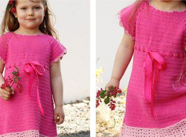 Spring Awaits Lacy Dress [FREE Crochet Pattern] | thecrochetfox.com