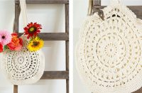 Sunflower Crochet Tote [FREE Crochet Pattern] | thecrochetfox.com