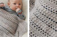 Dreamy Crocheted Baby Blanket [FREE Crochet Pattern] | thecrochetfox.com