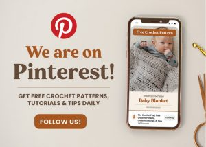 Find Us on Pinterest | The Crochet Fox