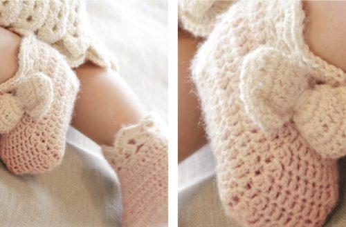 Taking Flight Crochets Slippers [FREE Crochet Pattern] | thecrochetfox.com