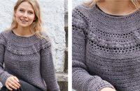 Tree Hive Crochet Sweater [FREE Crochet Pattern] | thecrochetfox.com