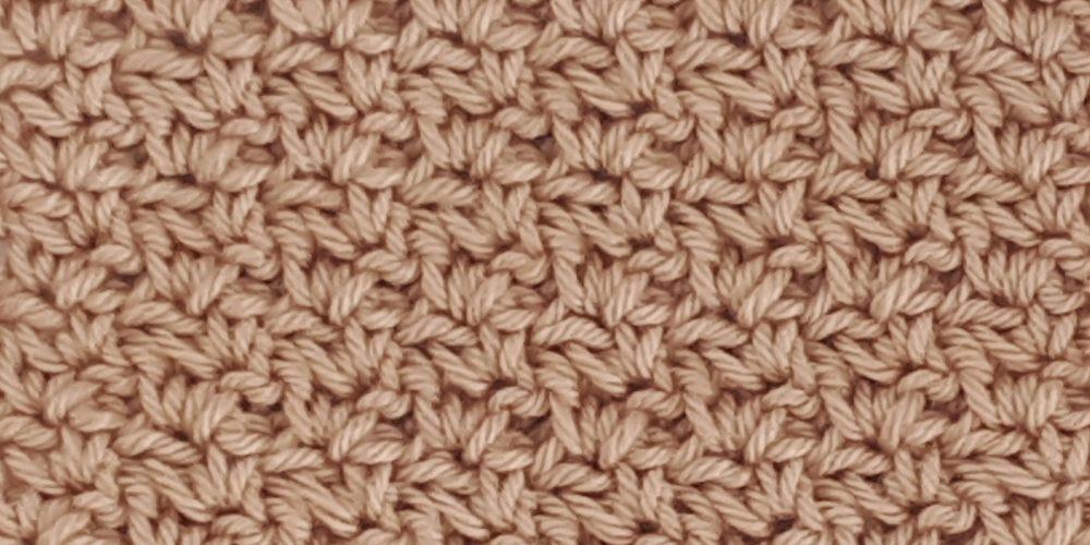 Wattle Stitch [FREE Crochet Stitch Pattern] | thecrochetfox.com