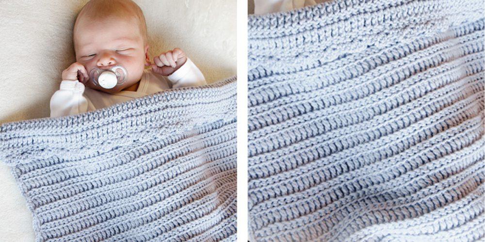 First Year Crochet Baby Blanket [FREE Crochet Pattern] | thecrochetfox.com