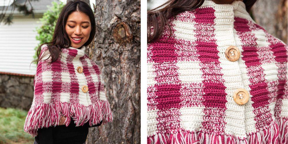 Charming Ancel Crochet Wrap [FREE Crochet Pattern]   thecrochetfox.com