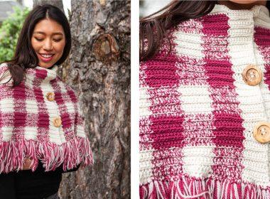 Charming Ancel Crochet Wrap [FREE Crochet Pattern] | thecrochetfox.com