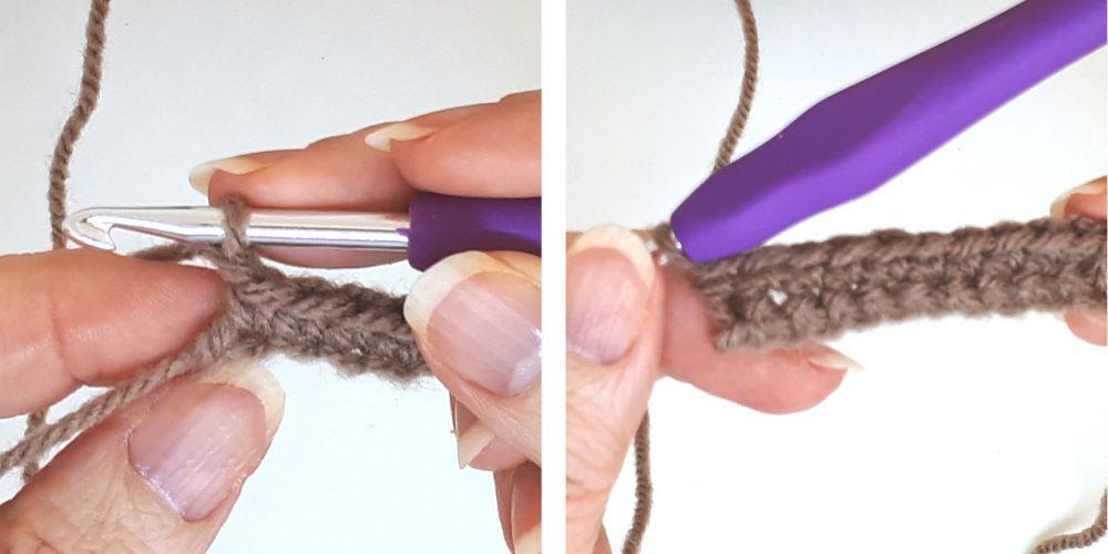 Single Crochet: Learn How to Single Crochet | thecrochetfox.com