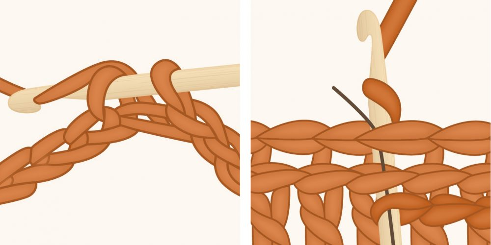 Slip Stitch Crochet: How to Crochet and Use the Slip Stitch | thecrochetfox.com
